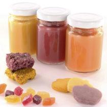 Des denrées alimentaires colorantes pour les produits infantiles