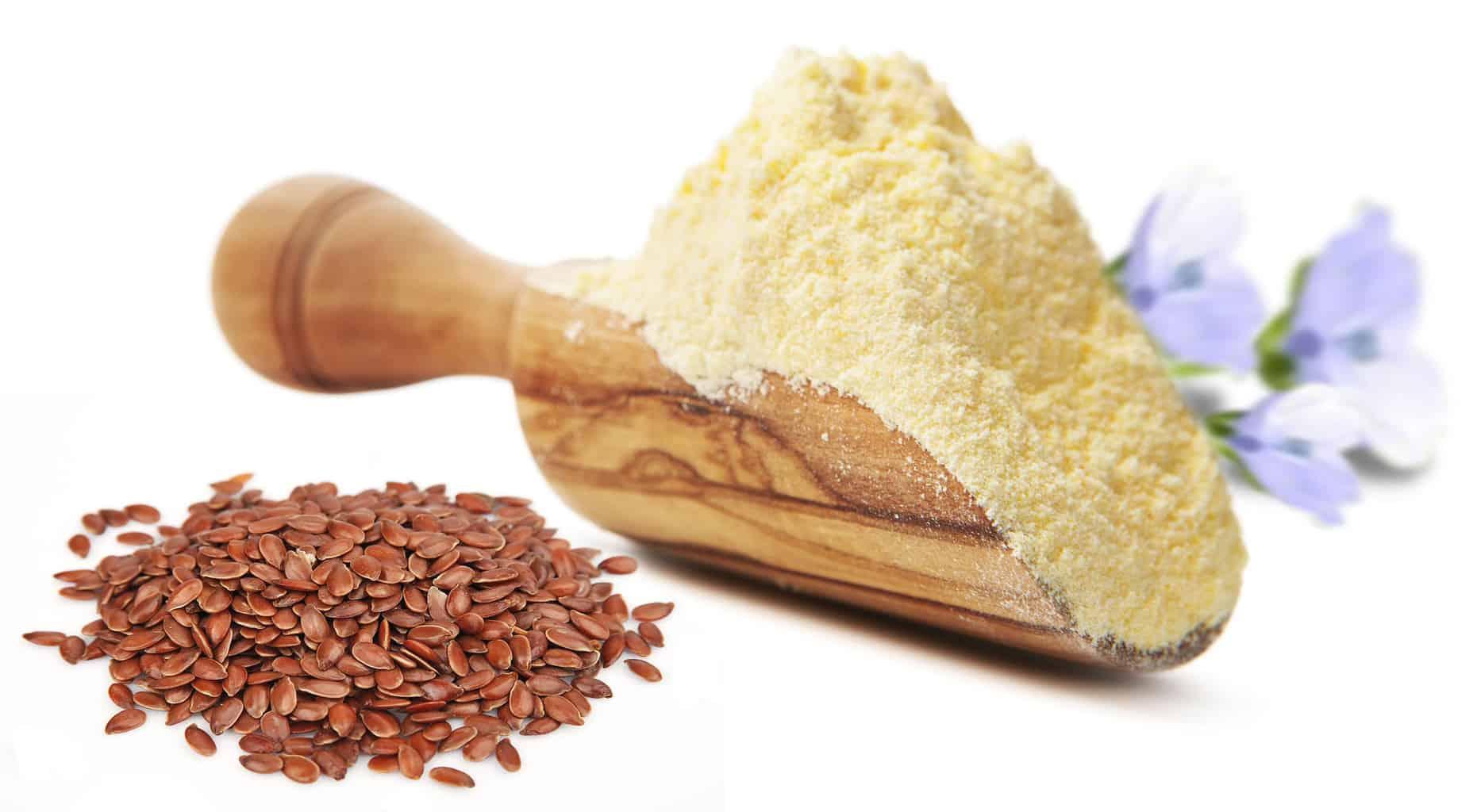 Valorex propose une gamme de farines de lin, réels ingrédients nutritionnels agréés Bleu-Blanc-Cœur