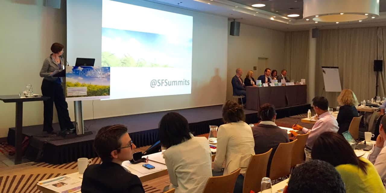 Le Sustainable Foods Summit pose la question du sourcing pour des ingrédients durables
