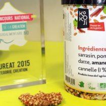 Le Concours National de la Création Agroalimentaire Bio récompense des produits bio gourmands