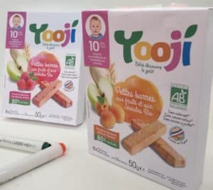 Innovation SIAL : babyfood bio en batonnet