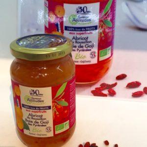 Préparation 100% fruits bio abricots baies de goji