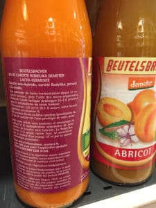 Boisson bio lacto-fermentée fermentation