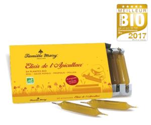 Elixir aux produits de la ruche