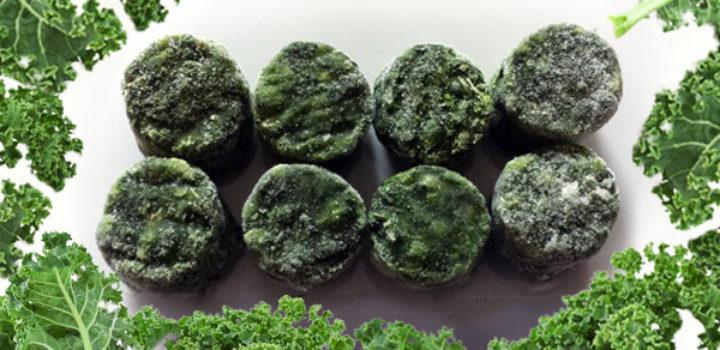 Le chou kale bio existe aussi en version surgelée