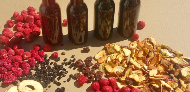 En direct des producteurs, Biercors propose une gamme inédite de fruits séchés ou en pur jus