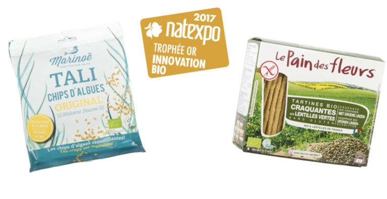 Des innovations gourmandes et saines recevront les Trophées Natexpo 2017