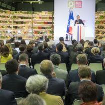 Les entreprises de la bio répondent «banco, allons-y!» à Emmanuel Macron