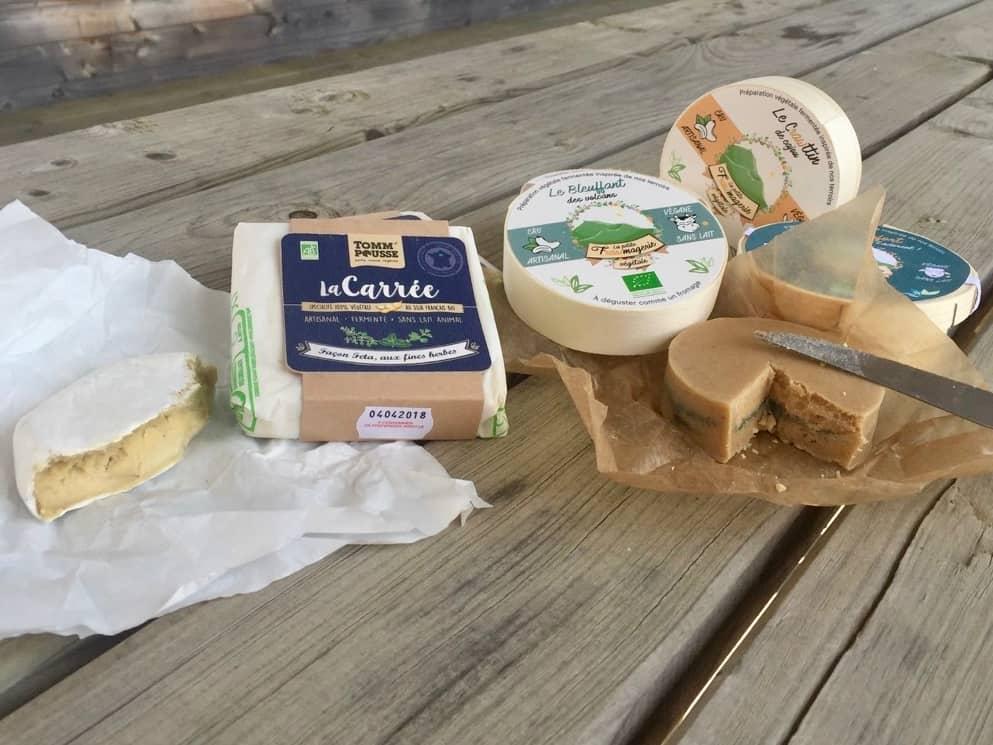 Alternatives végétales bio aux fromages