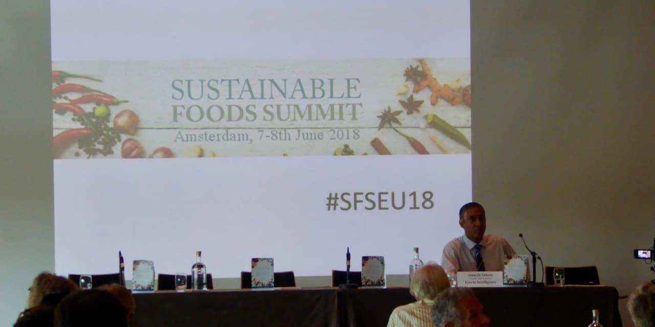 Sustainable Food Summit : Haro sur le plastique !