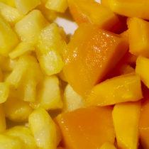 Ananas et mangues surgelées bio : FRDP sélectionne le goût