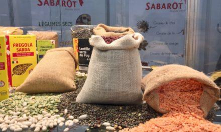 Sabarot développe les céréales et légumes secs IQF
