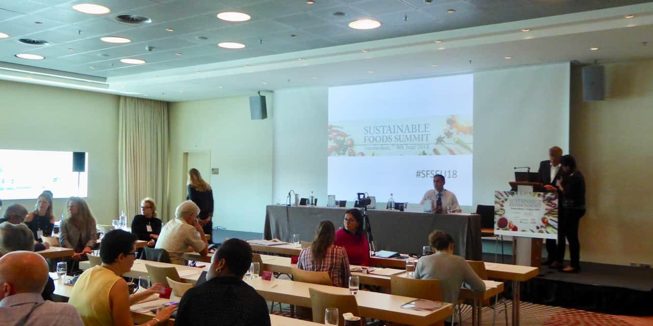 Sustainable Foods Summit Europe : ingrédients durables, emballages écologiques et nouvelles technologies au programme