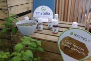 Melisse bio labellisée Phytolia stand Natinov