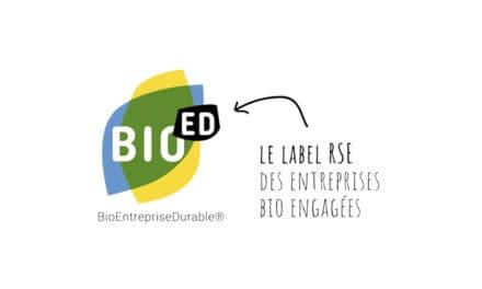 Un nouveau label RSE bio du SYNABIO : BioED®.