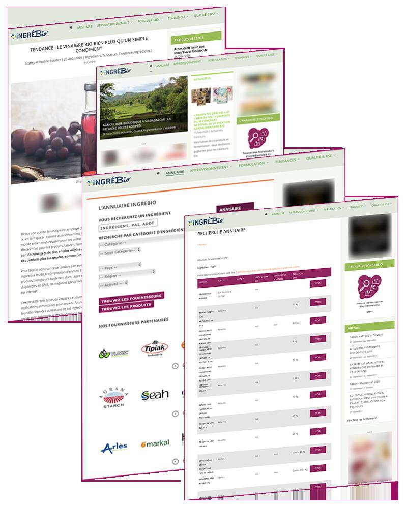 formule d' abonnement web-magazine et annuaire