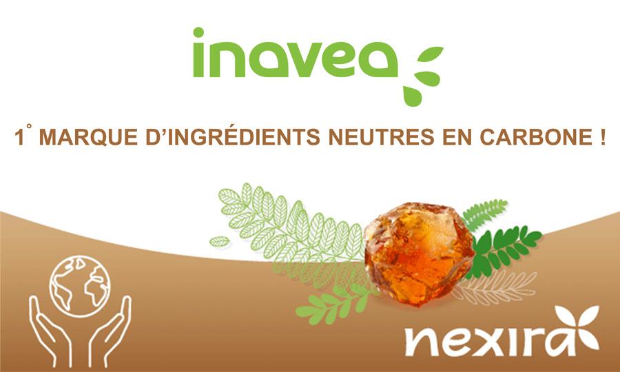 Nexira atteint son objectif de neutralité carbone avec sa marque engagée bio et durable inavea™