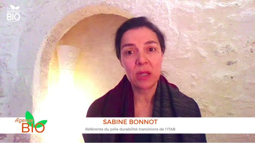 Sabine Bonnot de l'ITAB.