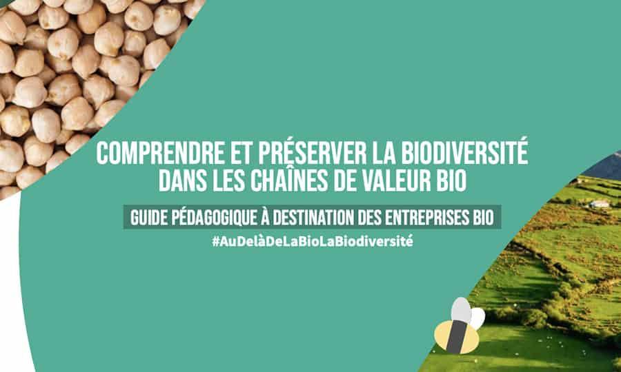 Le Synabio publie un guide pédagogique sur la biodiversité