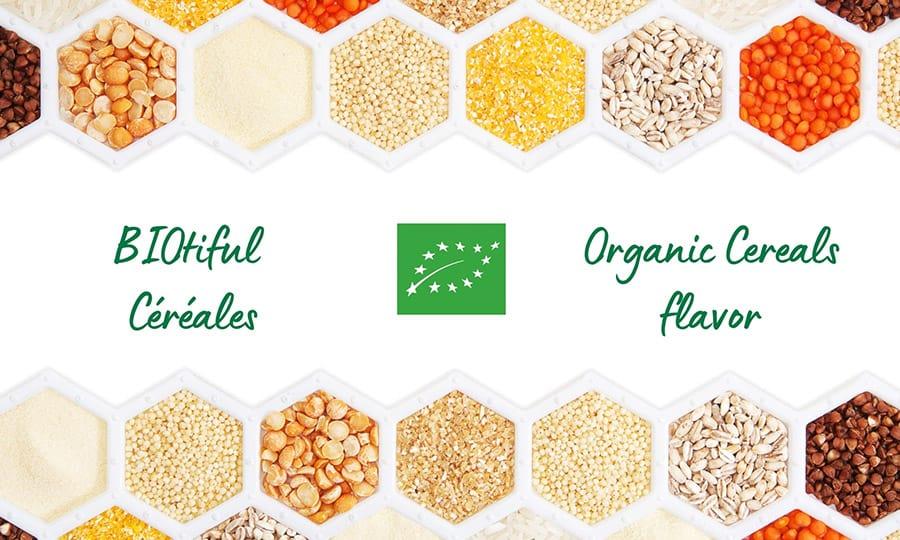 Un arôme naturel de céréales biologique pour les boissons végétales